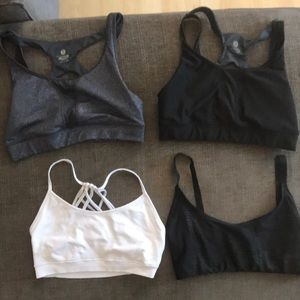 4-pack of Sports Bras